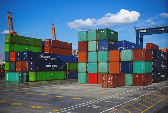 Fcl and lcl door to door combined logistics